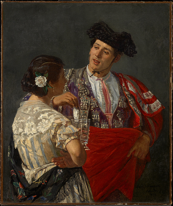 Offering the Panal to the Bullfighter
