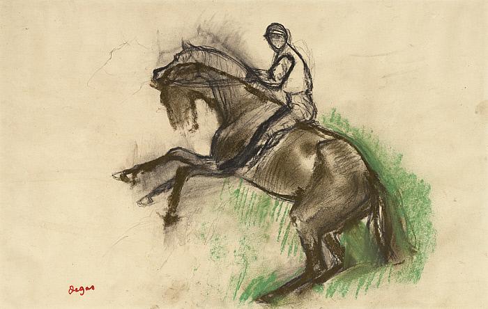 Jockey on a Rearing Horse