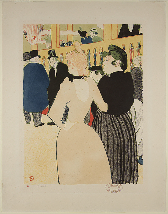 At the Moulin-Rouge: La Goulue and Her Sister