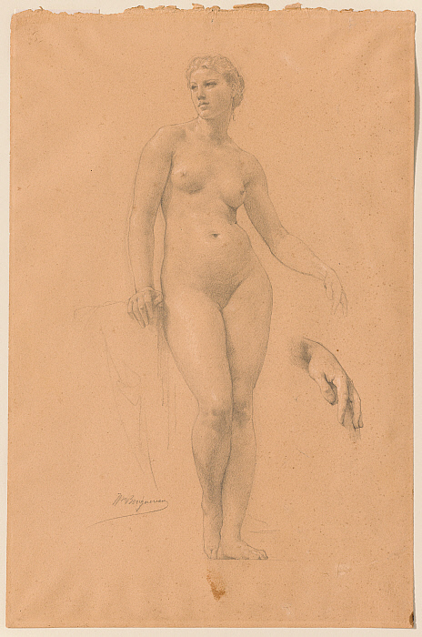 """Study of Venus for """"Apollo and the Muses in Olympus"""""""
