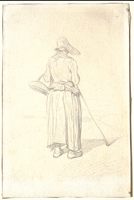 Peasant Woman Seen from the Back