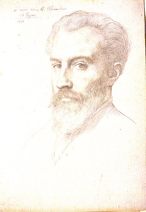 Portrait of Arsène Alexandre