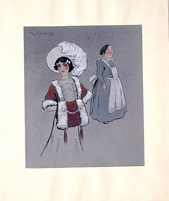 Mademoiselle Lavallière as Miquette