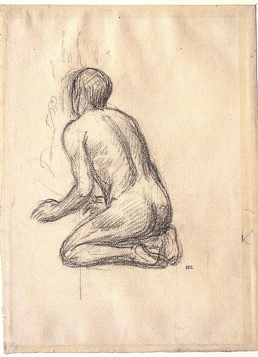 Kneeling Youth