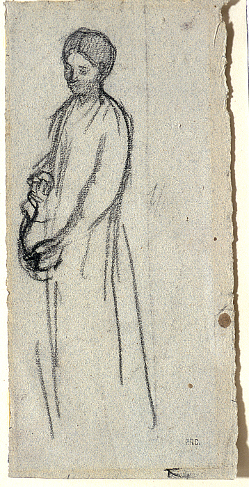 Standing Woman with a Pitcher