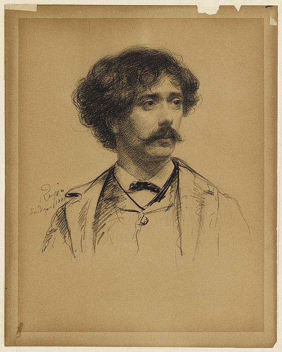 Portrait of Pablo Sarasate