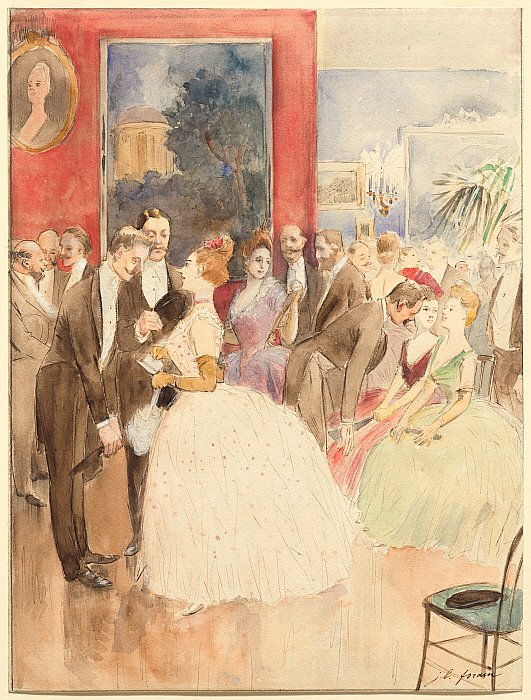 The Ball (Madame Forain)