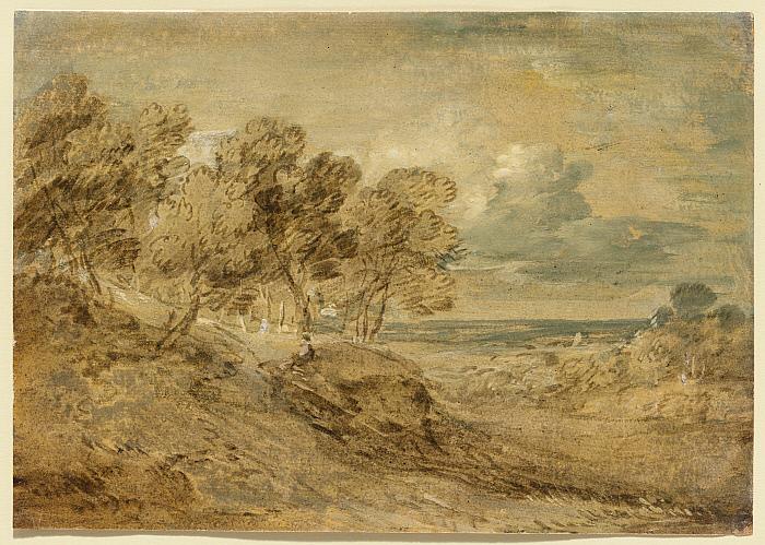 Landscape with a View over a Distant Plain