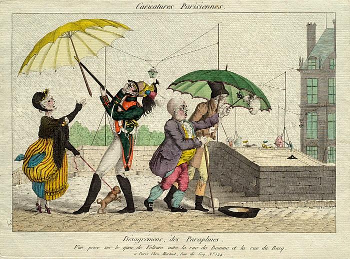 Désagrémens des parapluies