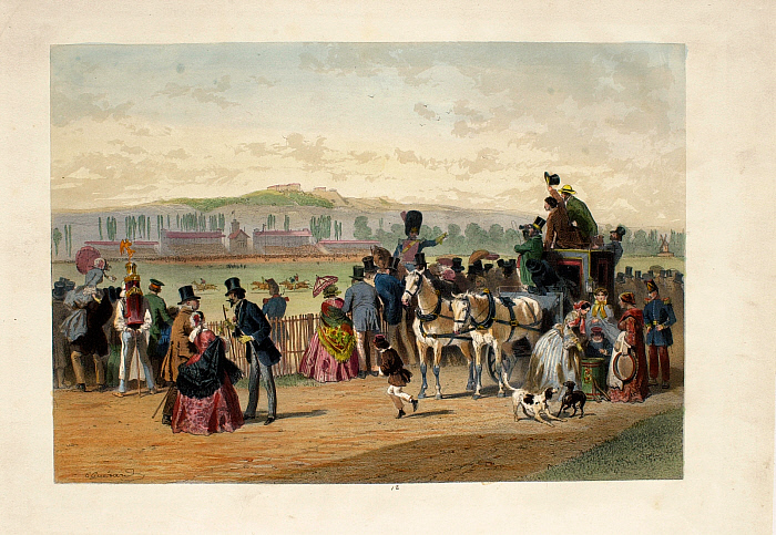 Physionomies de Paris #12: Hippodrome des Cours, Bois de Boulogne