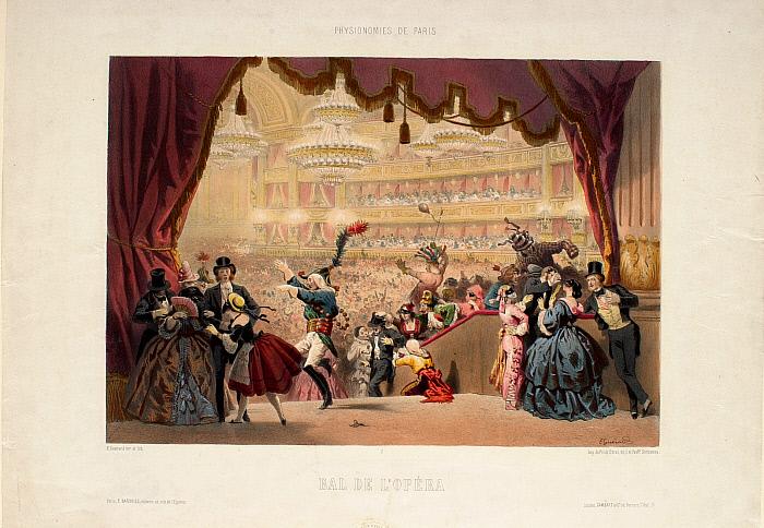 Physionomies de Paris #9: Bal de l'Opéra