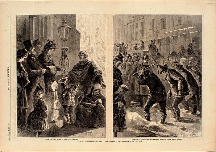 Italian Immigrants in New York