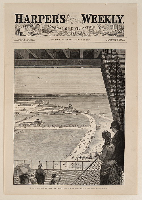 On Coney Island—View from the Observatory, Looking East