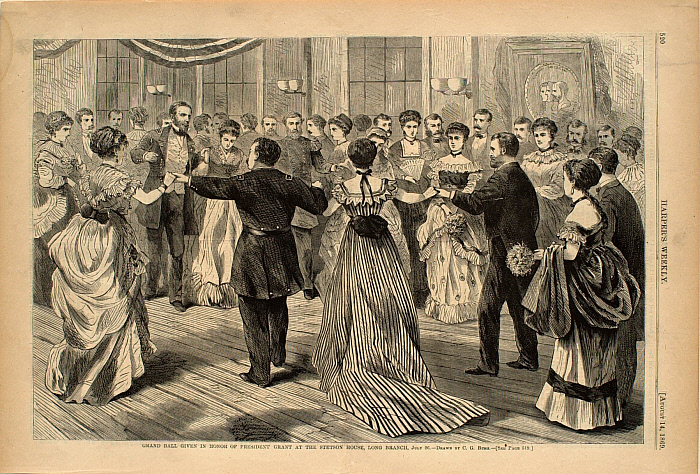 Grand Ball Given in Honor of President Grant at the Stetson House, Long Branch July 26