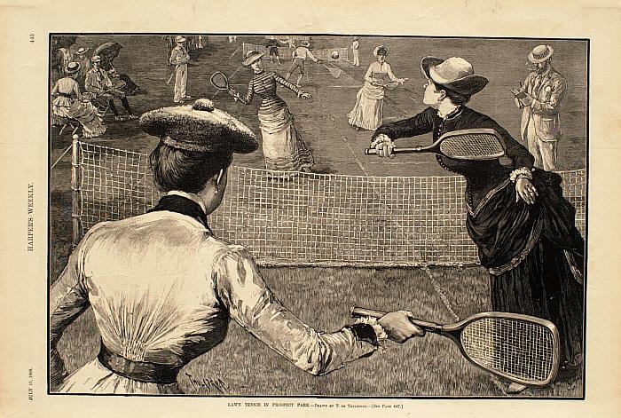 Lawn Tennis in Prospect Park