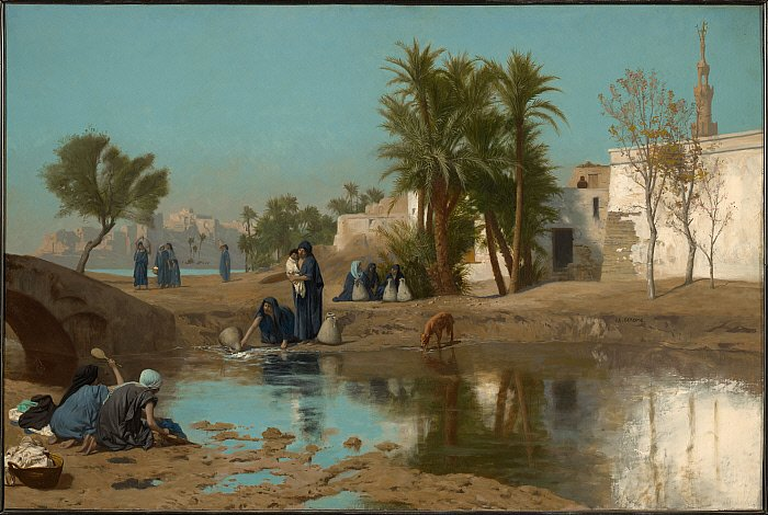 Fellah Women Drawing Water