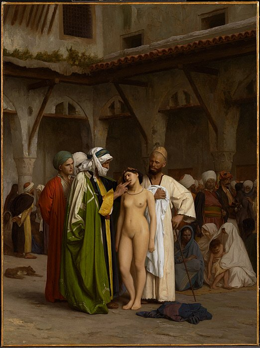 Znalezione obrazy dla zapytania slave market gerome