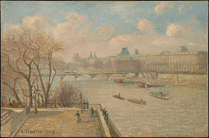 The Louvre from the Pont Neuf