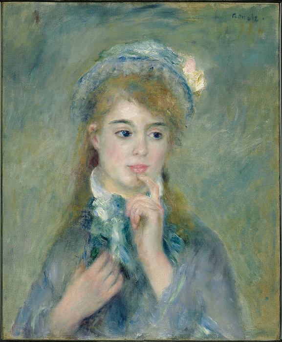 Portrait of a Young Woman (L'Ingenue)