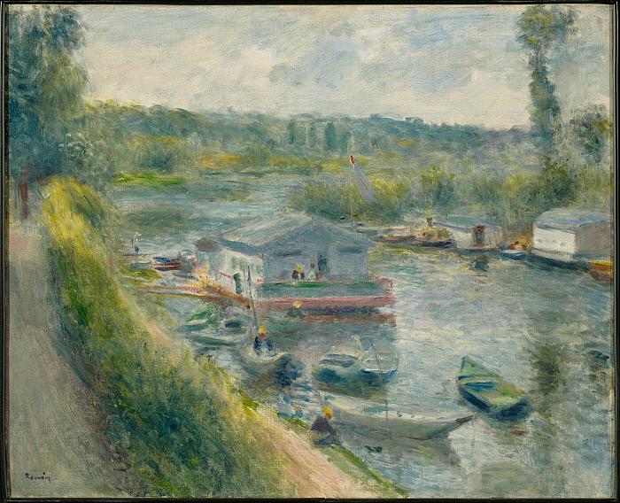 Wash-House Boat at Bas-Meudon
