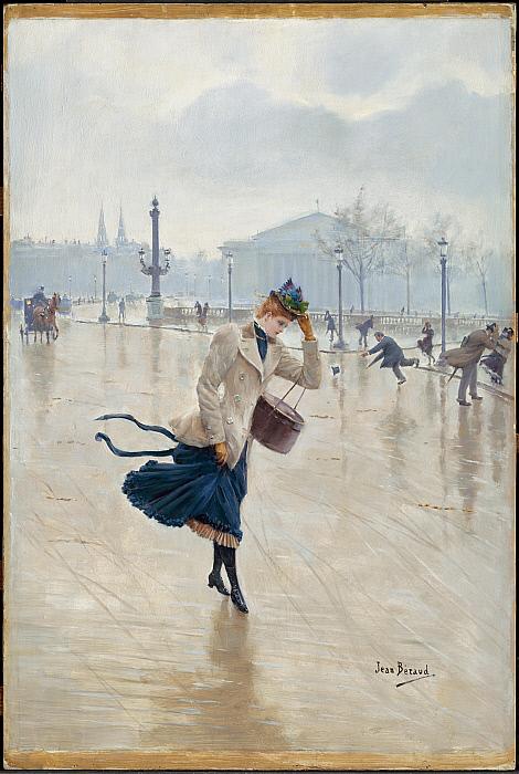 Windy Day, Place de la Concorde