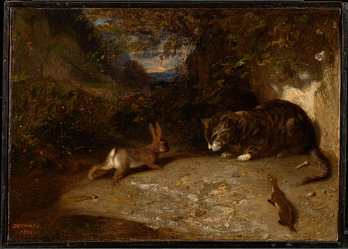 Cat, Weasel, and Rabbit
