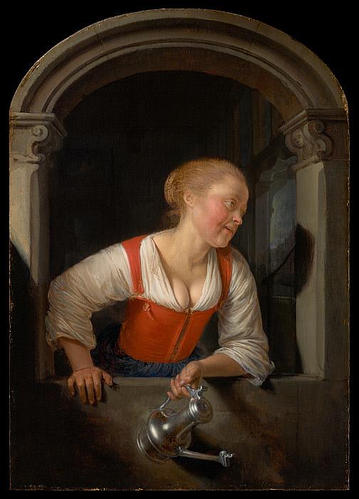 Girl at a Window Slider Image 1
