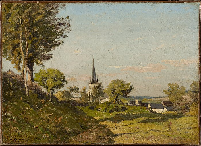 Landscape with a Church