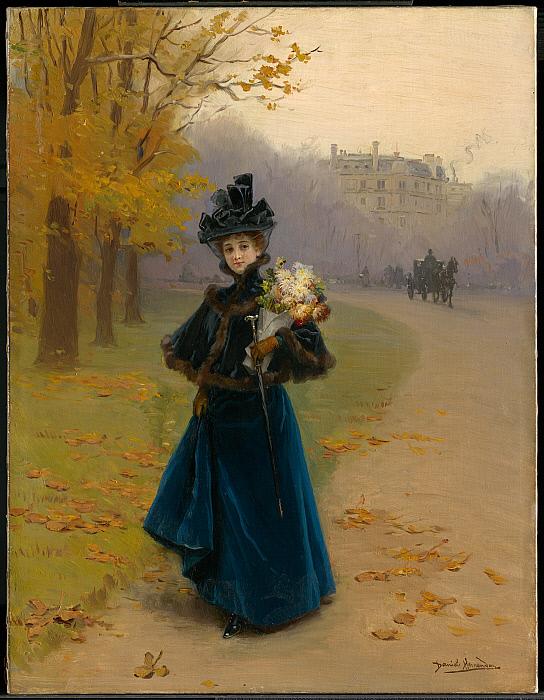 Museum  Collections  Woman in the Bois de Boulogne ~ Institut Bois Robert