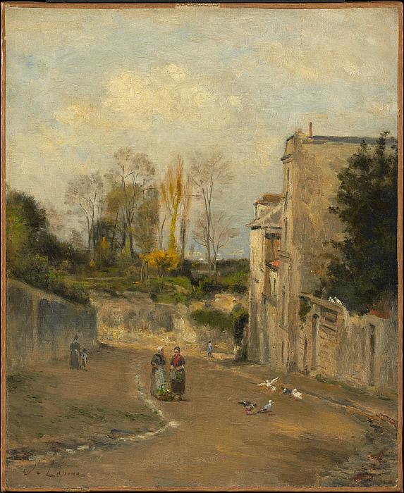 Montmartre, the rue Cortot