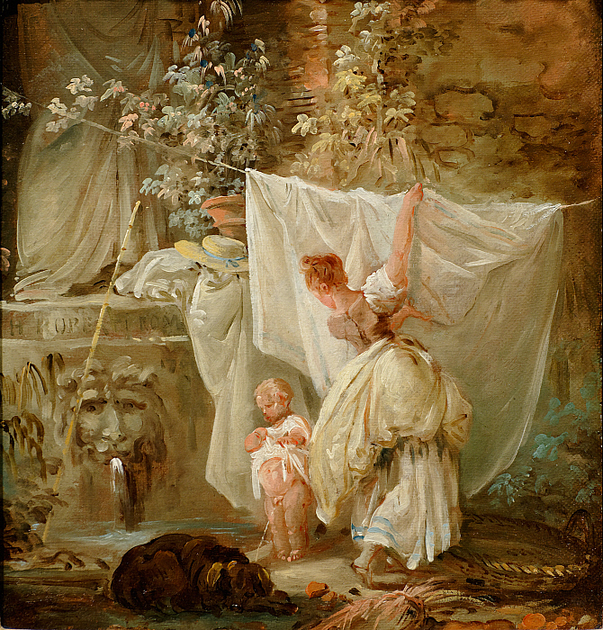 Laundress and Child