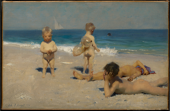 Neapolitan Children Bathing