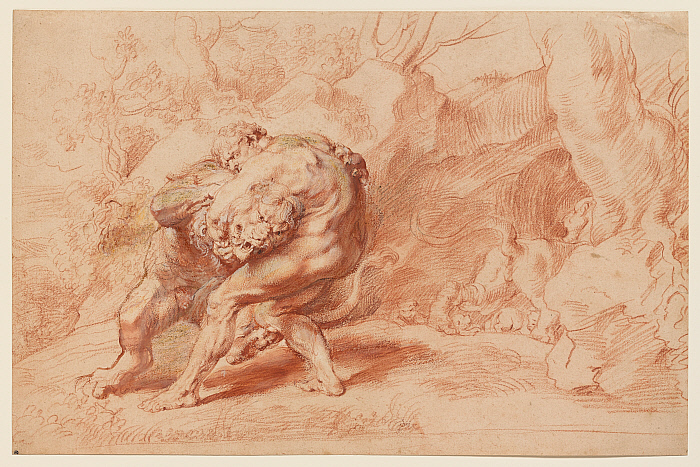 Hercules Strangling the Nemean Lion