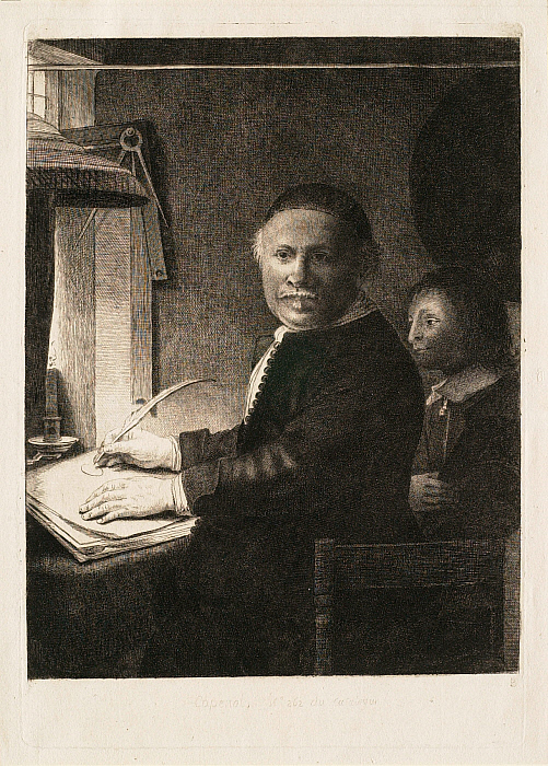 Lieven Willemsz. van Coppenol, Writing-Master