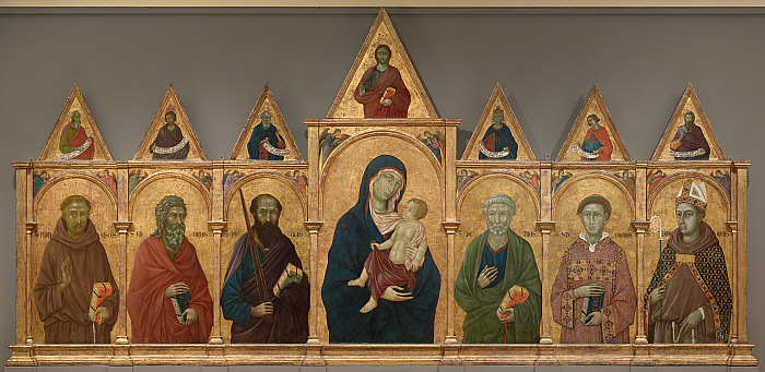 Virgin and Child with Saints Francis, Andrew, Paul, Peter, Stephen, and Louis of Toulouse