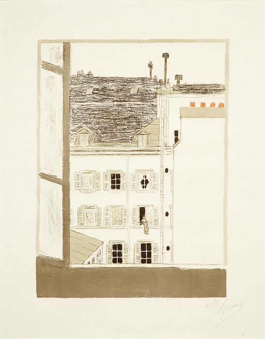 Some Aspects of Life in Paris, 4: House in the Courtyard (Quelques aspects de la vie Parisienne: Maison dans la cour)