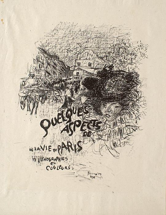 Some Aspects of Life in Paris: Cover (Quelques aspects de la vie parisienne: Couverture de l'album)