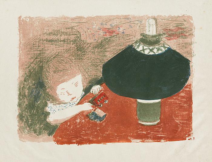Child with Lamp (Enfant à la lampe)