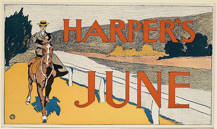 Woman on Horseback, June Harper's