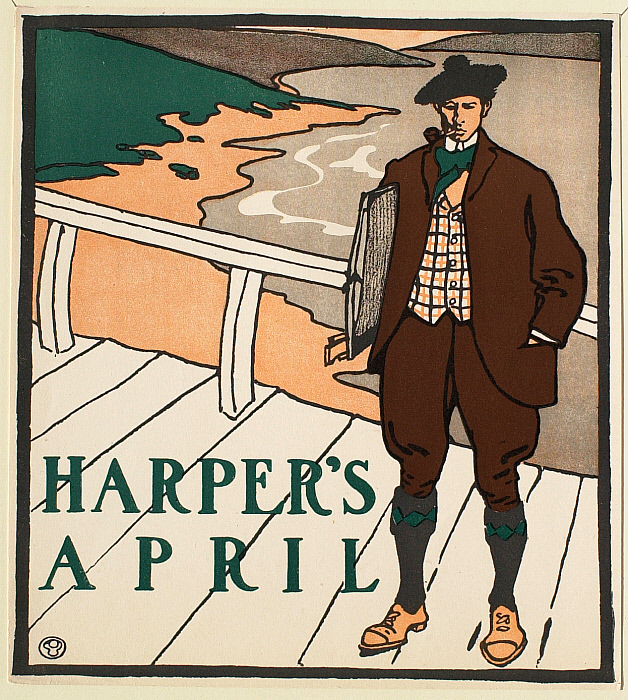 Man on Bridge, April Harper's