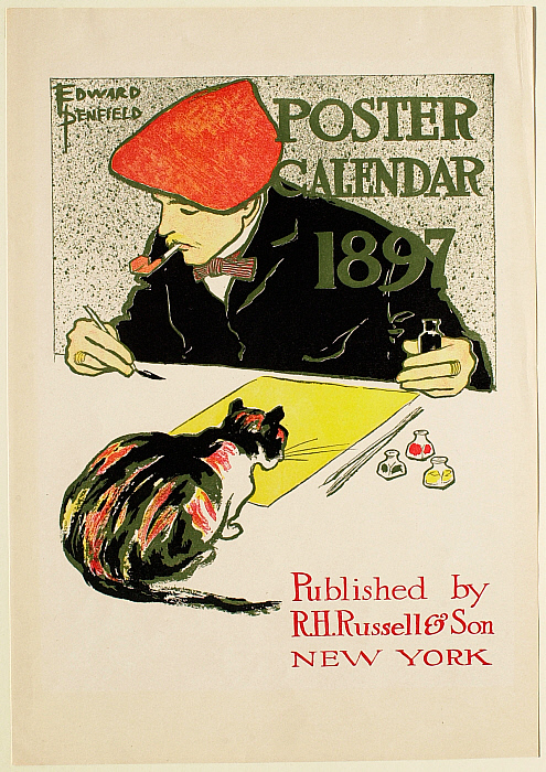 Poster Calendar 1897, R. H. Russel & Son, Publisher