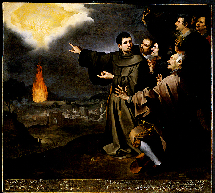 Fray Julián of Alcalá's Vision of the Ascension of the Soul of King Philip II of Spain
