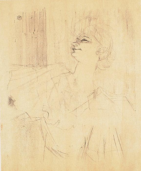 Yvette Guilbert (série anglaise): A Ménilmontant, de Bruant