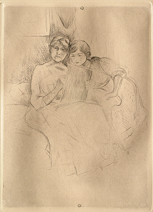 The Drawing Lesson: Berthe Morisot and Her Daughter