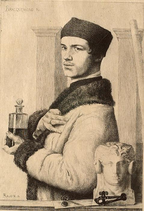 Portrait of Bracquemond