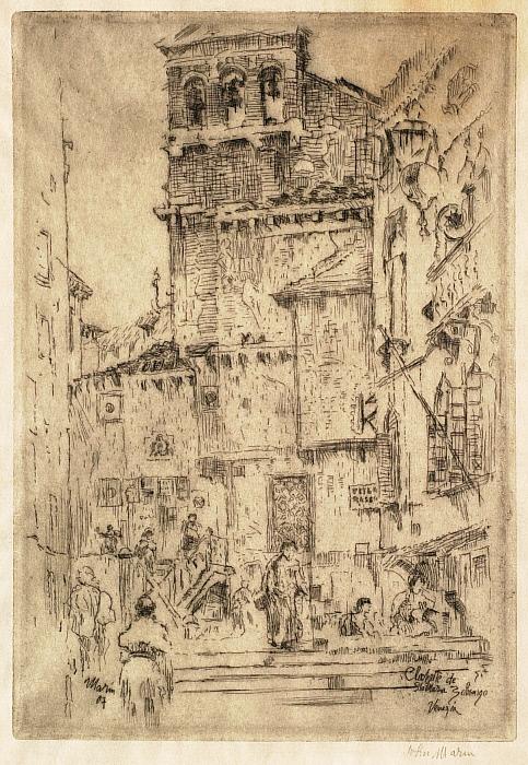 Clochette de Sta. Maria Zobenigo, Venezia