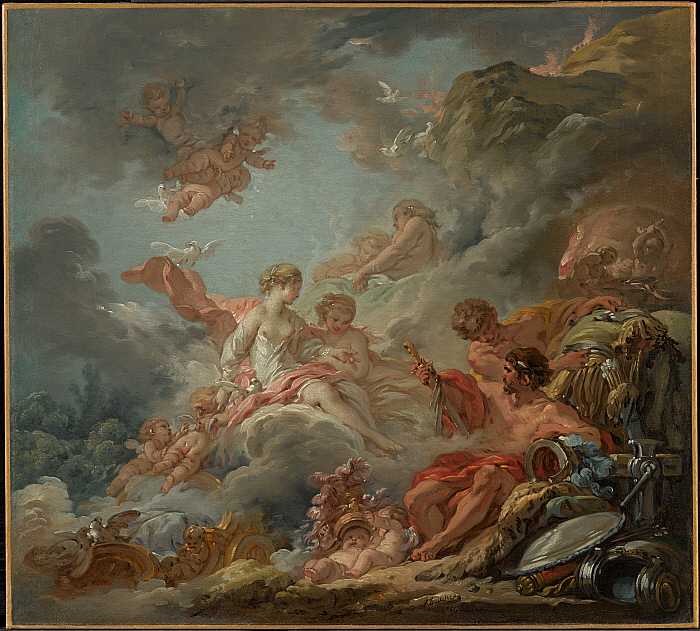 Vulcan Presenting Arms to Venus for Aeneas