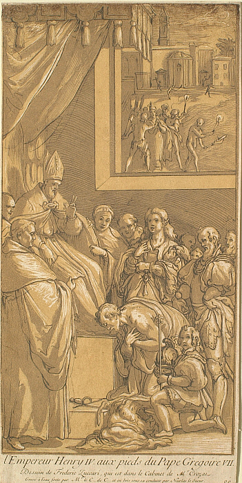 Emperor Henry IV at the Feet of Pope Gregory VII