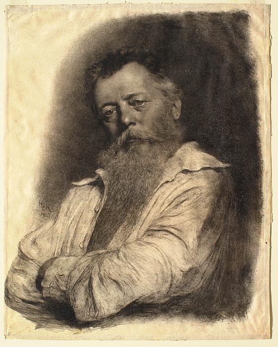 Portrait of a German Lithographer
