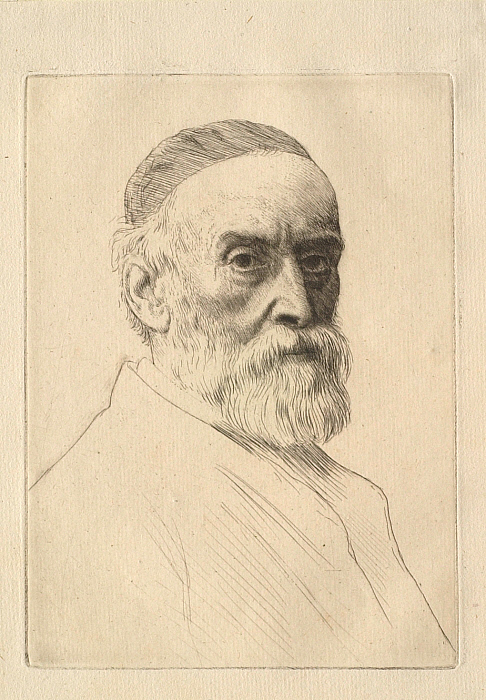 Portrait of the painter G. F. Watts (1877–1904)